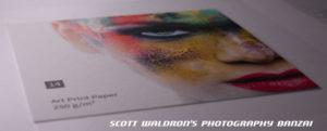 14 Art Print Paper, Reflection